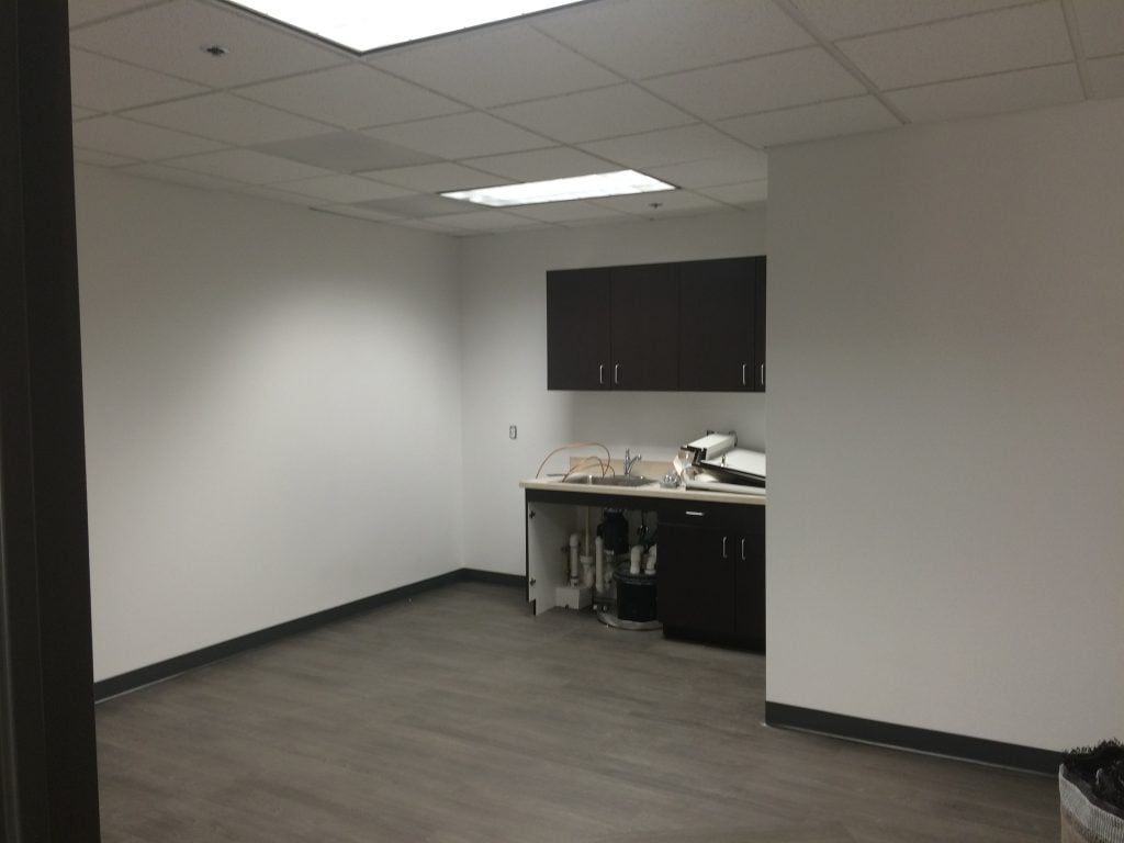 Commercial Interior Office Space Painting