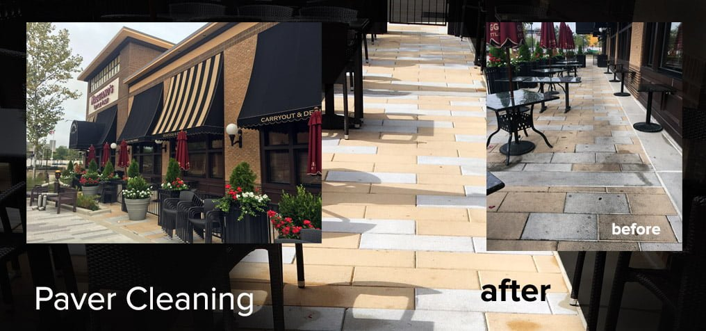 commercial pressure washing Maggianos Paver Cleaning Baltimore City Pressure Washing Commercial