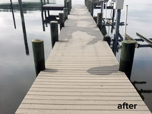 Pier Wash After | Baltimore Power Washing All Touch Power Wash & Paint