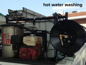 Hot Water Wash