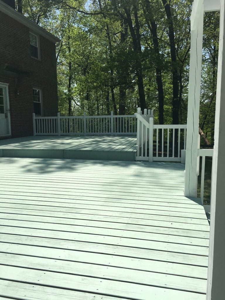 Deck Paint Job